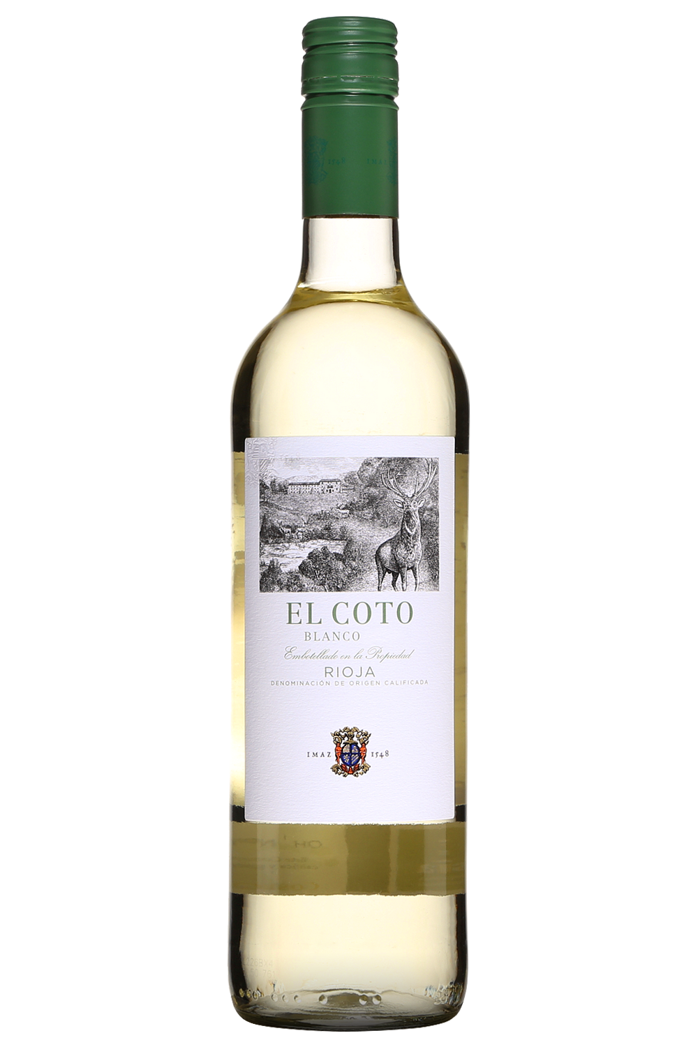 El Coto Blanco Rioja 2018 -Case (6 Bottles)