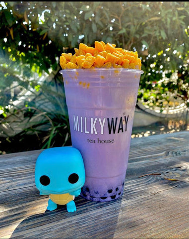 Boba Float and Squirtle, Image by @BobaRamenBeer