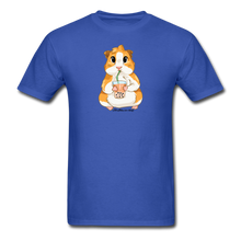 Load image into Gallery viewer, Men's & Unisex Guinea Pig Drinking Boba Classic T-Shirt - royal blue