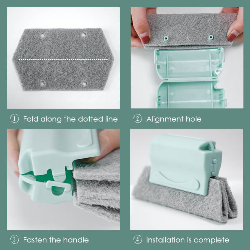 Magic window cleaning brush- ✨✨Quickly clean all corners and gaps✨✨ –  mohouseware
