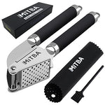 Garlic Press with Cleaning Brush-MiTBA-kitchenware