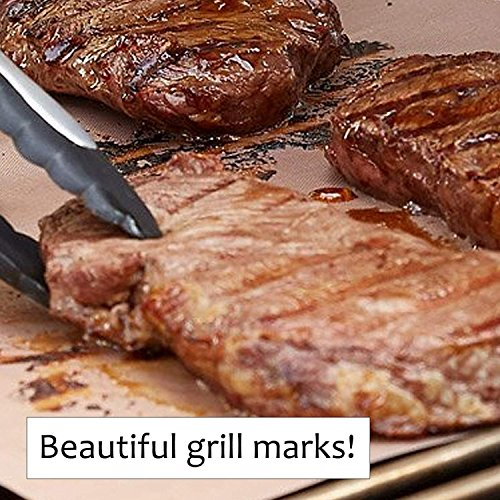 Copper Grill Mats - Set of 3 XL Mats