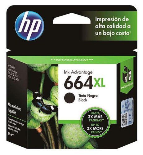 HP 664XL Black Ink Cartridge