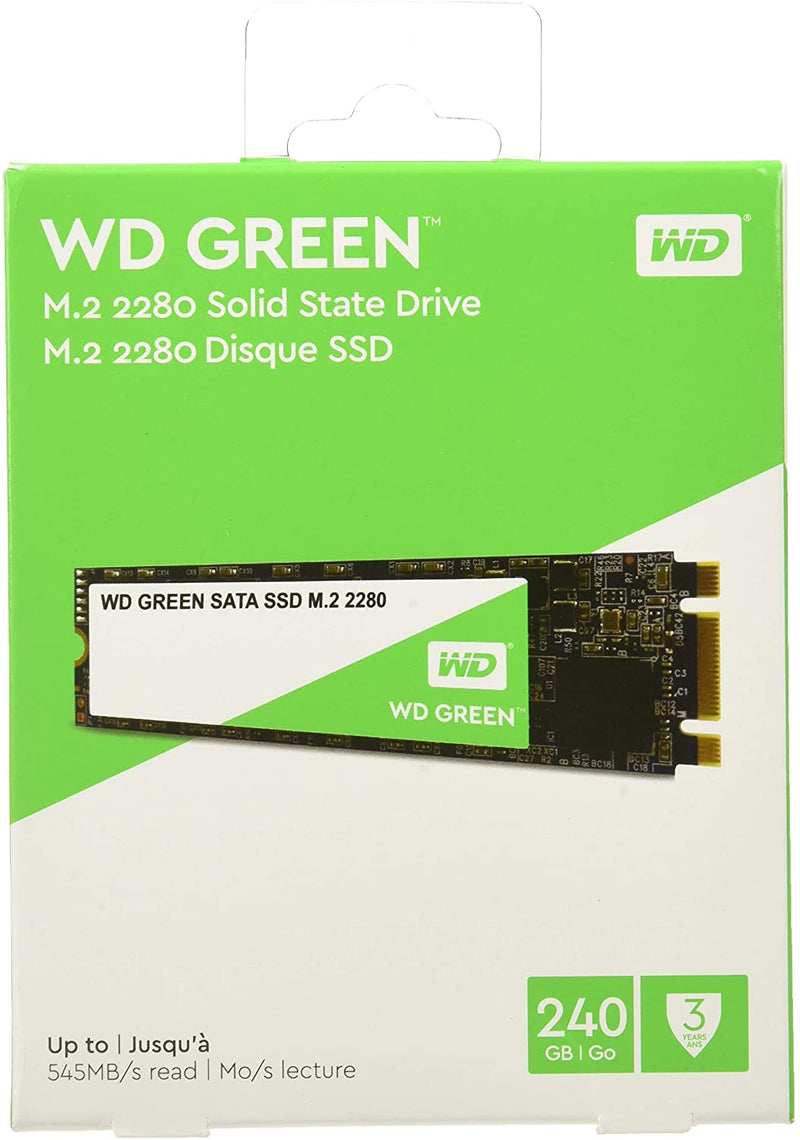 Western Digital 240gb Green SATA  Solid State Drive