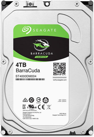 Seagate BarraCuda 4TB Hard Drive