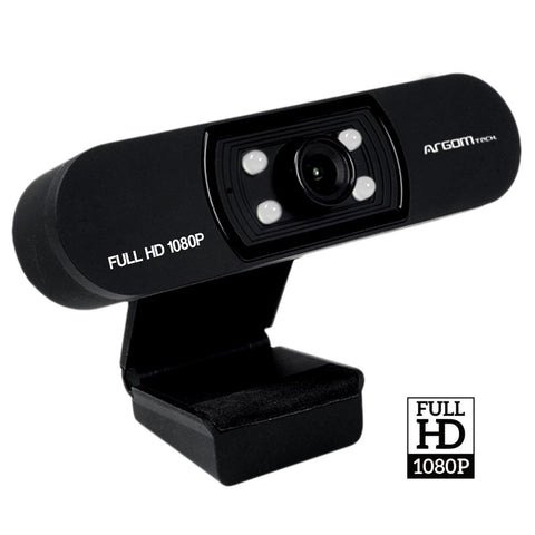 Argom FULL HD 1080P WITH MICROPHONE & LEDS CAM50 Webcam