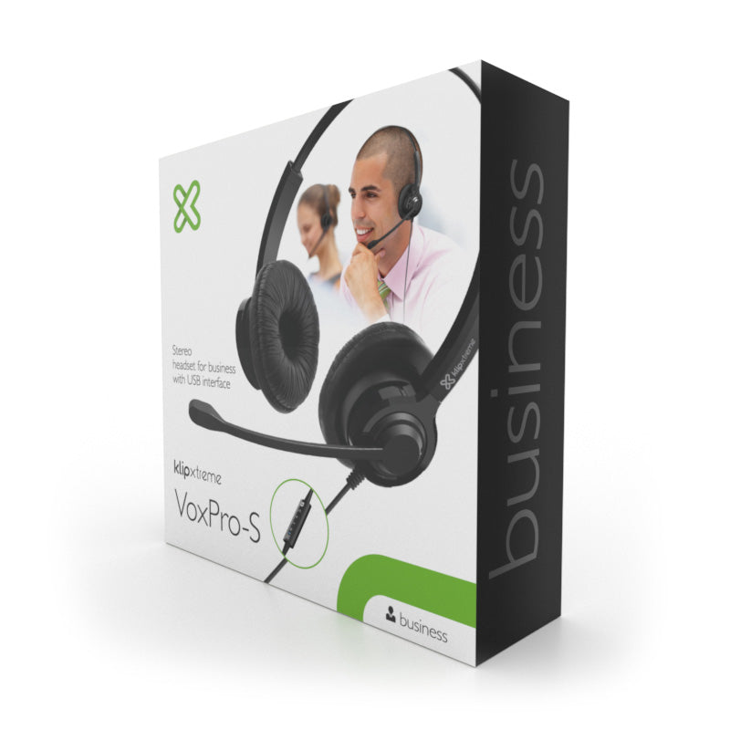 Klipxtreme VoxPro-S KCH-911 Stereo business headset