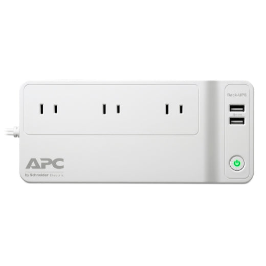 APC 120VA 3 outlet Back-UPS Connect 90