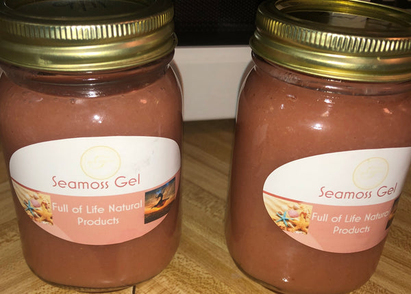 Sea Moss Gel (vegan friendly, wild crafted) - Full of Life Natural Products