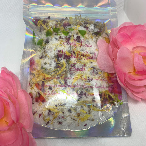 """Self Love"" Herbal Bath Soak - Full of Life Natural Products"