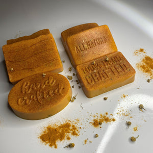 Turmeric and Sea Moss Detox Soap - Full of Life Natural Products