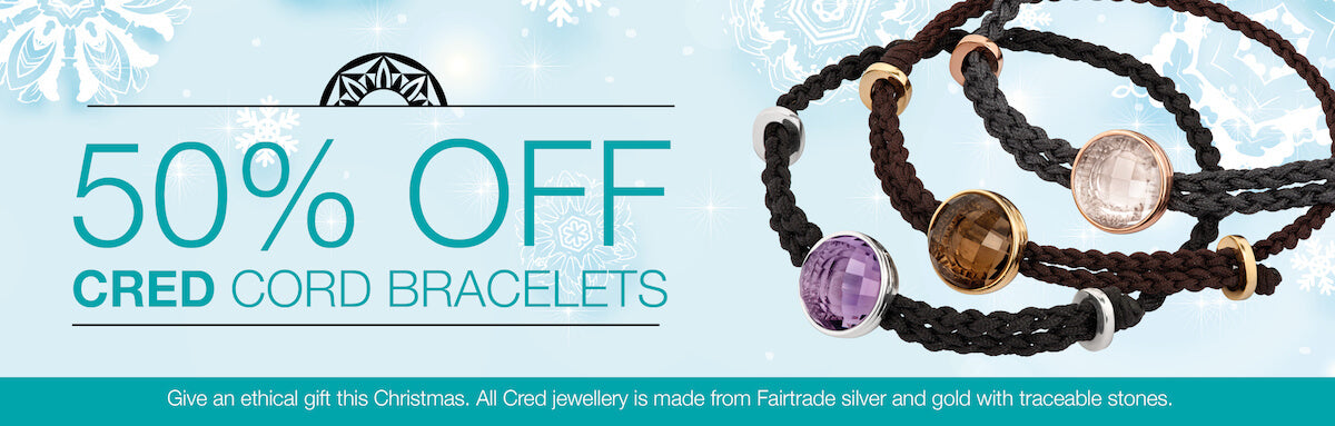 50% OFF CRED cord bracelets