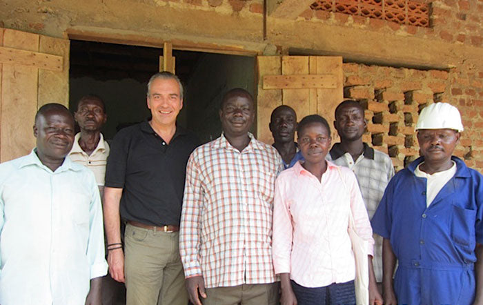 Fairtrade Gold Miners with Cred Jewellery Alan Frampton