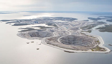 Ethical diamonds mine Canada