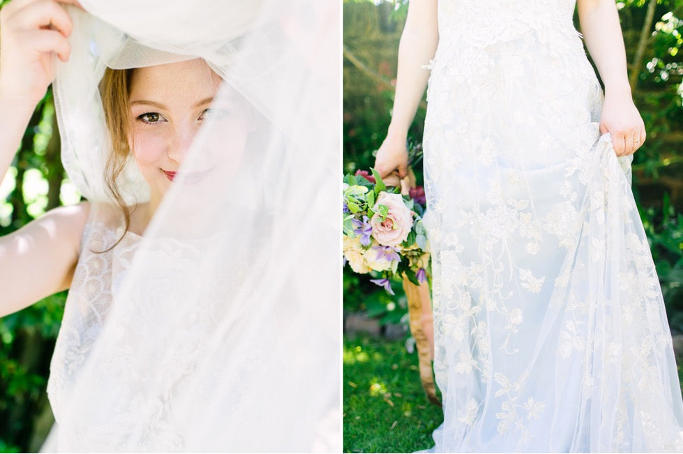 Wedding Photography Veil