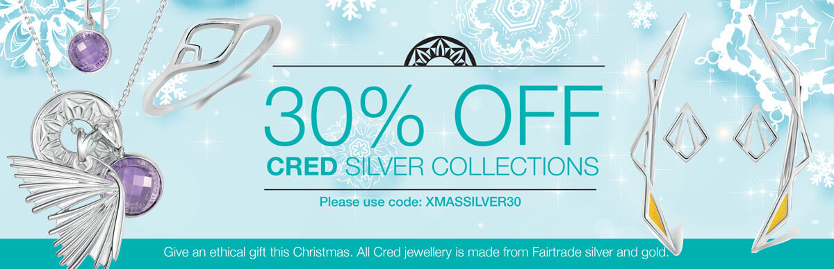 30% OFF CRED silver collections