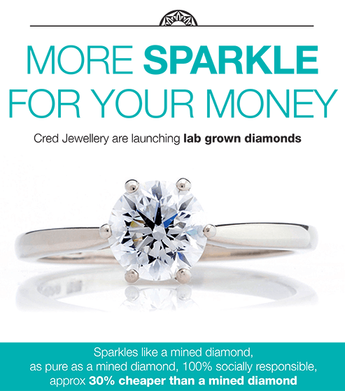 Lab grown diamonds - more for your sparkle