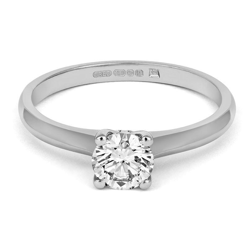Brilliant Open-Set Solitaire Ring - CRED Jewellery - Fairtrade Jewellery - 2