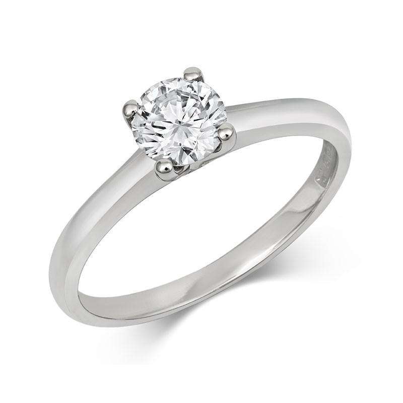 Brilliant Open-Set Solitaire Ring - CRED Jewellery - Fairtrade Jewellery - 3