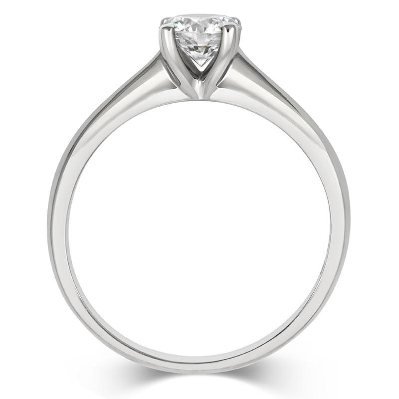 Brilliant Open-Set Solitaire Ring - CRED Jewellery - Fairtrade Jewellery - 4