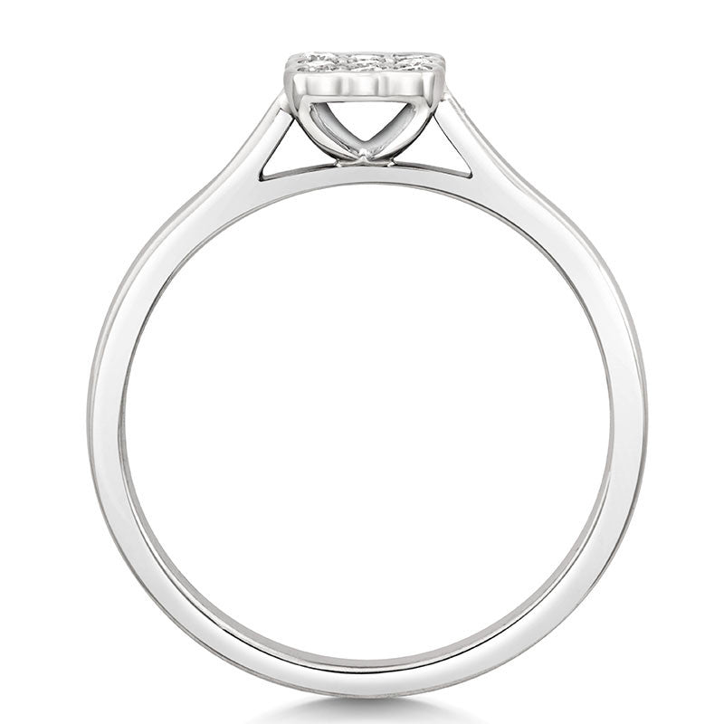 Bella Ethical Engagement Ring - CRED Jewellery - Fairtrade Jewellery - 3