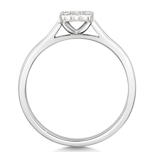 Bella Engagement Ring - CRED Jewellery - Fairtrade Jewellery - 3