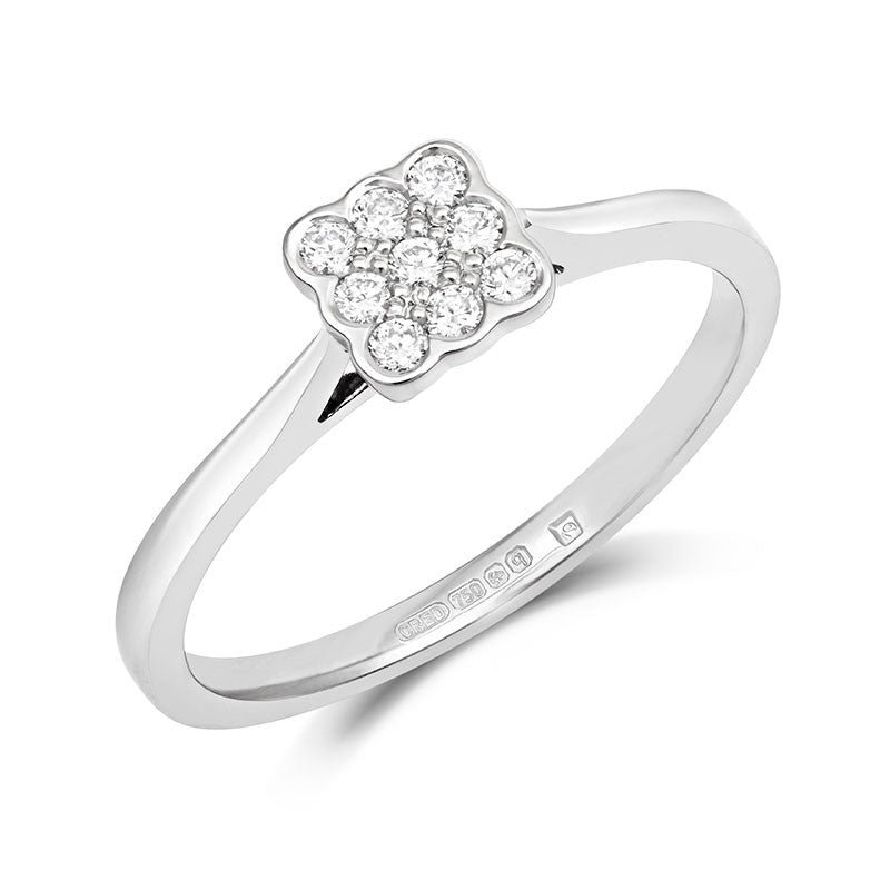 Bella Ethical Engagement Ring - CRED Jewellery - Fairtrade Jewellery - 1