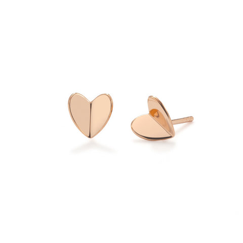 My Hearts a Flutter Stud earrings