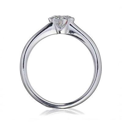 Brilliant Cradle Set Ethical Diamond Engagement Ring