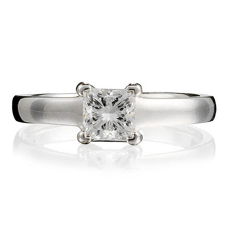 Princess Gallery Engagement Ring - CRED Jewellery - Fairtrade Jewellery - 1