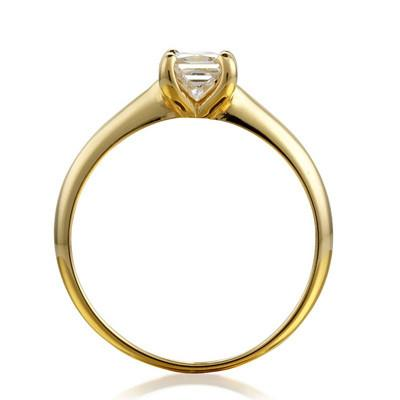 Princess Open-Set Engagement Ring - CRED Jewellery - Fairtrade Jewellery - 2