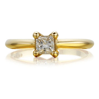Princess Open-Set Ethical Diamond Engagement Ring