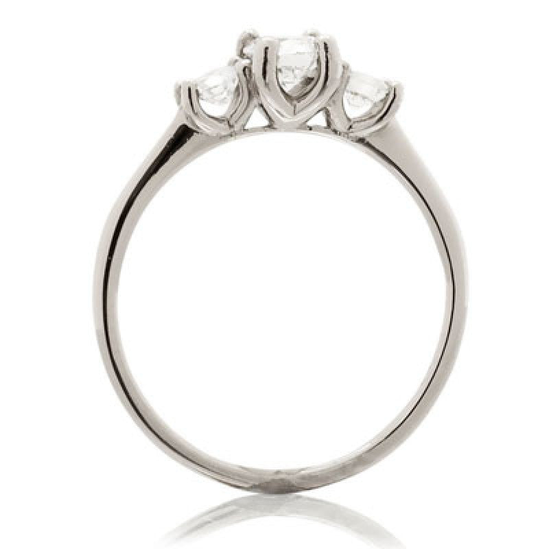 Open Trilogy Ring - CRED Jewellery - Fairtrade Jewellery - 2