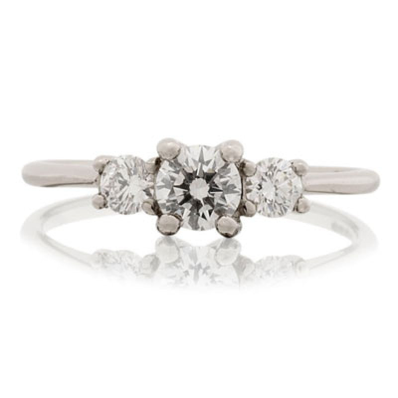 Open Trilogy Ring - CRED Jewellery - Fairtrade Jewellery - 1