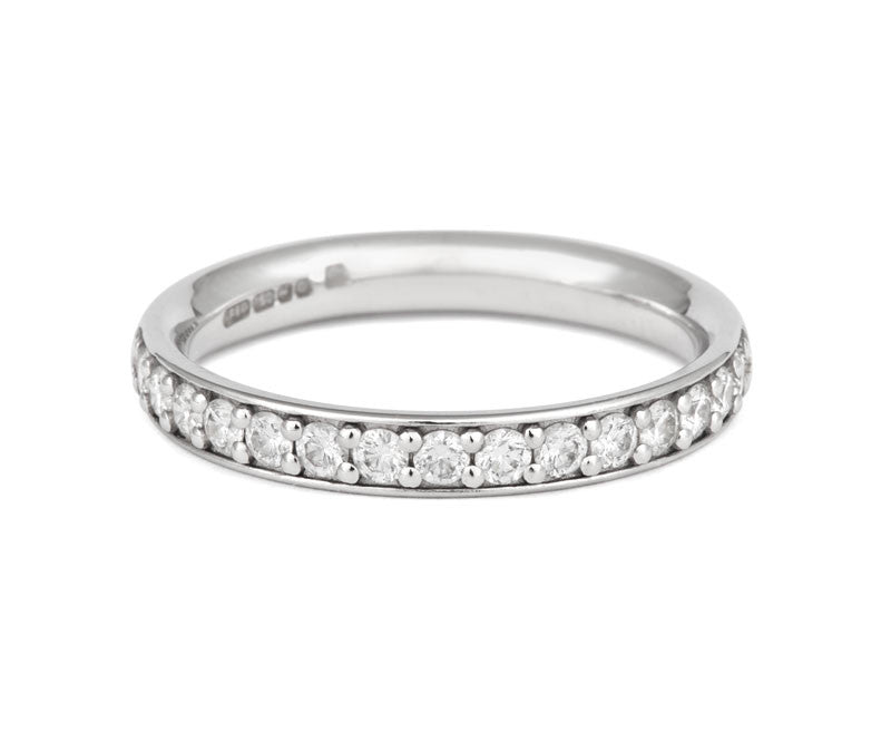 Classic Pave Eternity - CRED Jewellery - Fairtrade Jewellery - 2