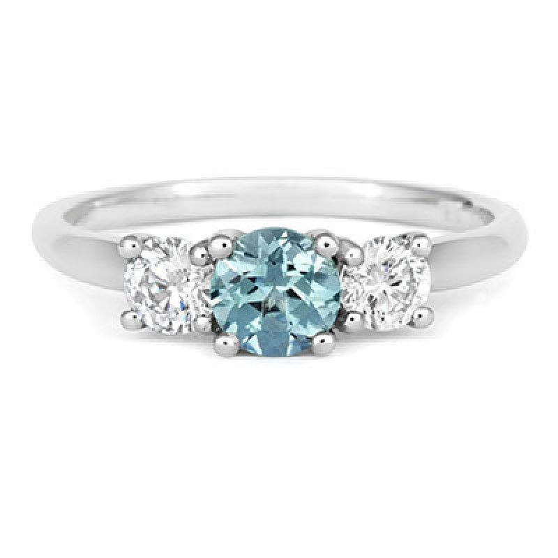 image blueteal p u sapphire cut blue ctw trilliant c green sapphireu ring teal diamond