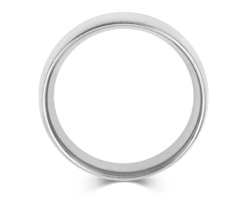 Heavy Mens Court Wedding Ring- Rose, Yellow or White Gold (18ct) or Platinum - CRED Jewellery - Fairtrade Jewellery - 3