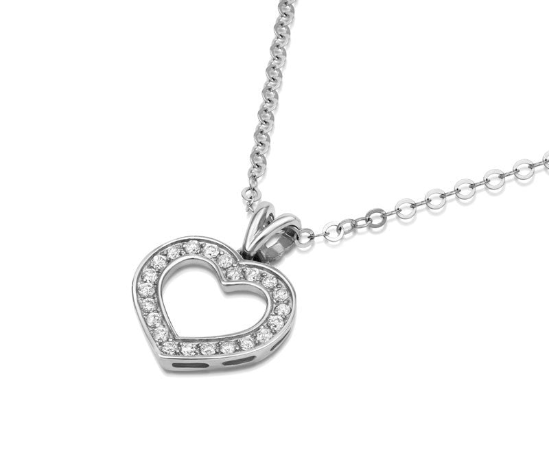 Diamond Heart Pendant - CRED Jewellery - Fairtrade Jewellery - 4