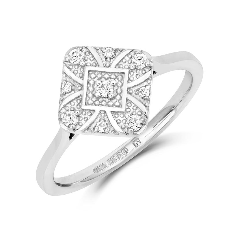 Ana Ethical Engagement Ring - CRED Jewellery - Fairtrade Jewellery - 3