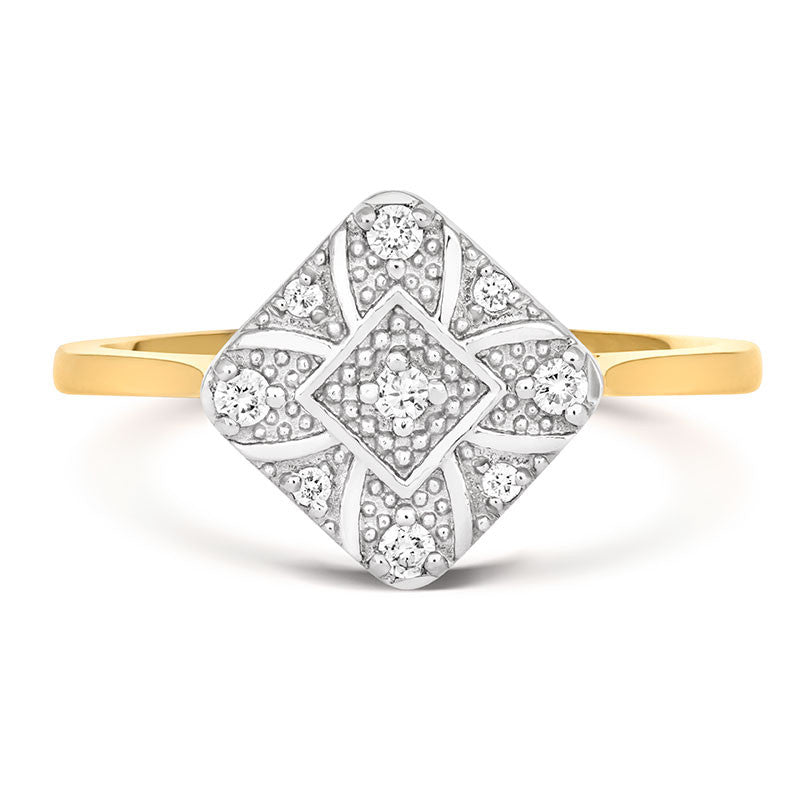 Ana Ethical Engagement Ring - CRED Jewellery - Fairtrade Jewellery - 2