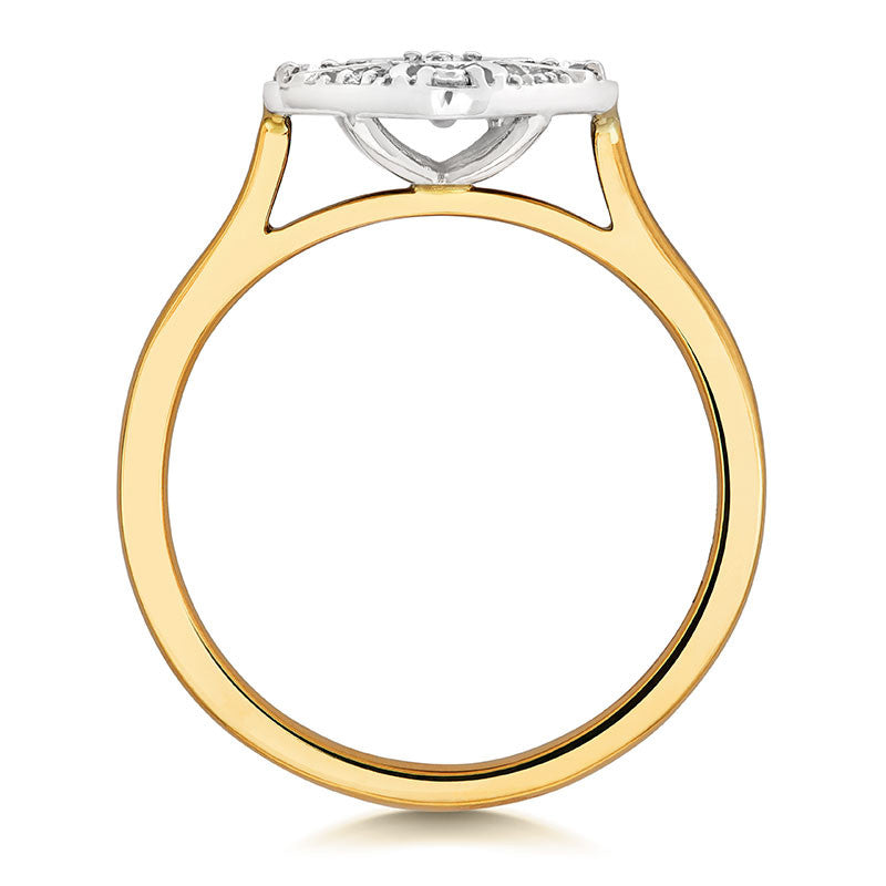 Ana Ethical Engagement Ring - CRED Jewellery - Fairtrade Jewellery - 4