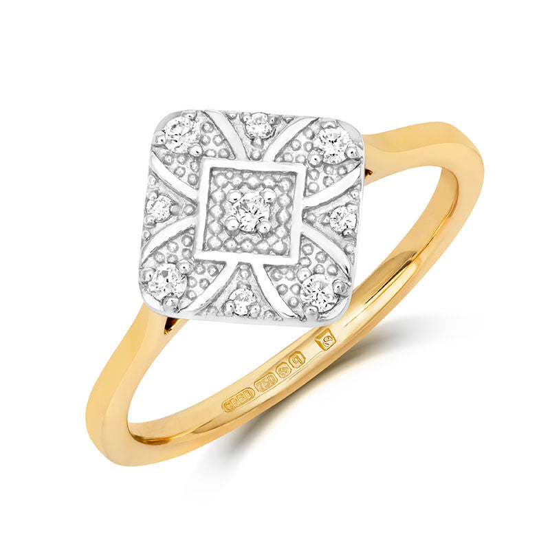Ana Ethical Engagement Ring - CRED Jewellery - Fairtrade Jewellery - 1