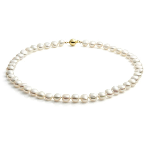 Baroque Pearl Strand Necklace