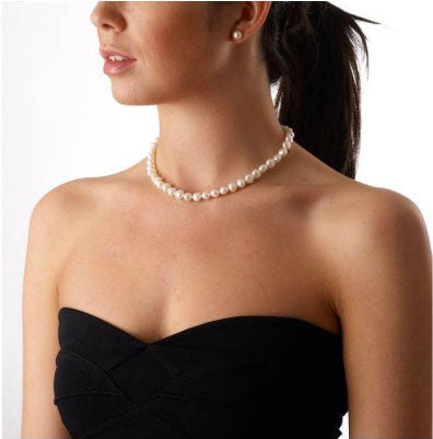 Baroque Pearl Strand Necklace - CRED Jewellery - Fairtrade Jewellery - 2