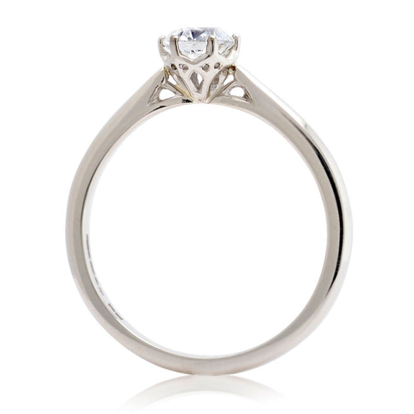 0.5ct Antique Basket Ethical Diamond Solitaire Ring - CRED Jewellery - Fairtrade Jewellery - 2