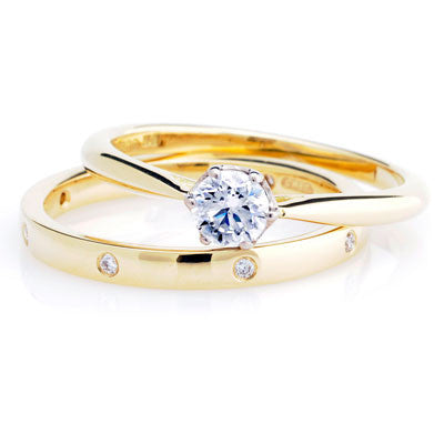 1ct Antique Basket Ethical Solitaire Diamond Engagement Ring - CRED Jewellery - Fairtrade Jewellery - 3