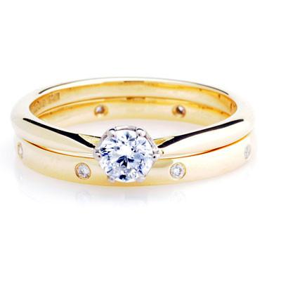 Diamond Set Court Ring - CRED Jewellery - Fairtrade Jewellery - 6