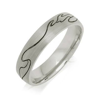 Journey Wedding Ring - CRED Jewellery - Fairtrade Jewellery - 4