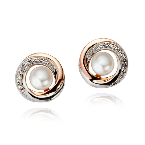 Jersey Pearl Camrose Cluster Earrings