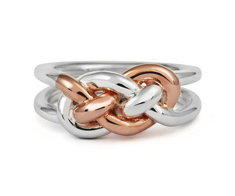 Entwined Knot Ring